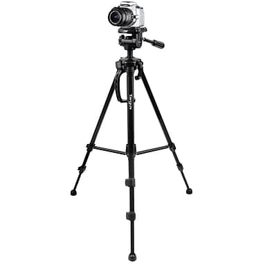 Targus® Red TGT-BK58T 3-Way Panhead Tripod, Black