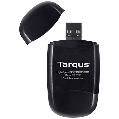 Targus® TGR-MSD500 USB 2.0 Secure Digital Card Reader