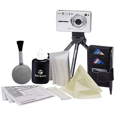 Targus® Red TG-RA1010 Digital Camera Essentials Kit, Assorted