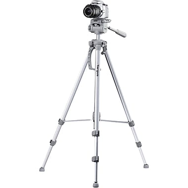 Targus® Red TG-6660TR Tripod with 3-Way Panhead, 66in. Extended