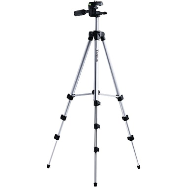 Targus® Red TG-5060TR Tripod with 3-Way Panhead, 50in. Extended