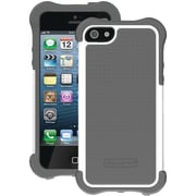Ballistic® SG Maxx Case With Holster For iPhone 5, Charcoal/White