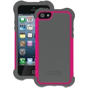 Ballistic® SG Maxx Case With Holster For iPhone 5, Charcoal/Pink