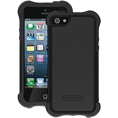 Ballistic® SG Maxx Series Case With Holster For iPhone 5, Black