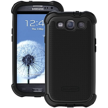 Ballistic® SG Maxx Case For Samsung Galaxy S III, Black/Black