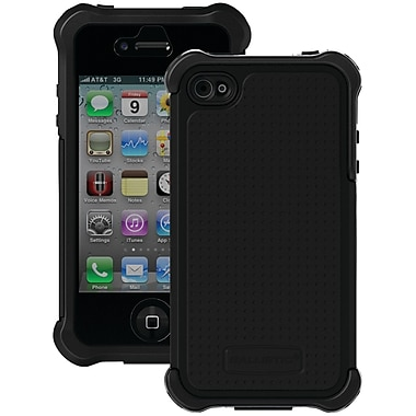 Ballistic® SG MAXX Series Case For iPhone 4/4S, Black