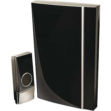Swann SWHOM-DC830B Wireless Door Chime with Stylish Black Finish