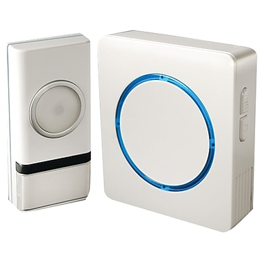 Swann SWHOM-DC810B Wireless Door Chime with Compact Backlit Design