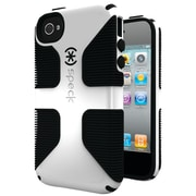 Speck® Candyshell Grip Case For iPhone 4s, White/Black