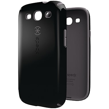 Speck® CandyShell Case For Samsung Galaxy S III, Black/Dark Grey