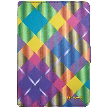 Speck® Fitfolio For iPad Mini, Megaplaid Springtime