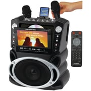 "KARAOKE USA DVD/CD/MP3G Karaoke, Video, Music Player System with 7""W TFT Color Screen (JSKGF829)"