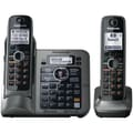 Panasonic® Kx-TG7642M Link-to-Cell Bluetooth Cellular Telephone With 2 Handsets, 3050 Name/Number