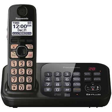 Panasonic® Kx-TG4741B Digital Cordless Telephone With 1 Handset, 70 Name/Number