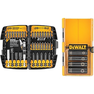 DeWalt® Impact Driver Accessory Set, 38 Pieces
