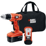 Black & Decker® GCO18SFB 18V Cordless Drill with Stud Sensor and Storage Bag
