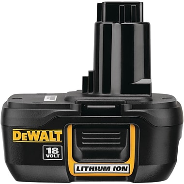 DeWalt® DC9181 Compact Lithium-ion Battery Pack, 18 V, 30 mins