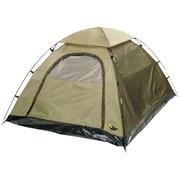 "Stansport 5'6"" x 6'6""x 44"" Buddy Hunter Tent, Green"