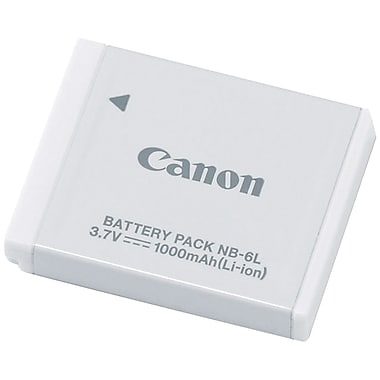 Canon® 2607B001AA 3.7 VDC 1000 mAh Lithium-ion Rechargeable Replacement Battery