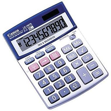 Canon® LS100TS 10-Digit Display Portable Calculator