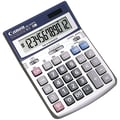 Canon® HS-1200TS 12-Digit Display Portable Calculator