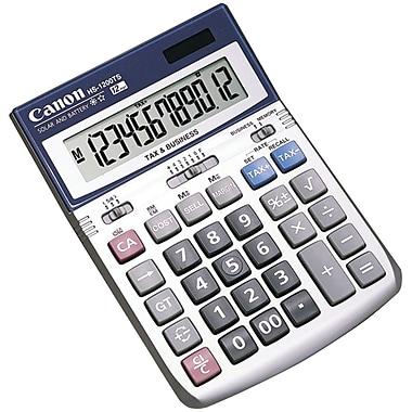 Canon HS-1200TS 12-Digit Display Portable Calculator