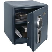 First Alert 1.31-Cubic-Foot Waterproof Fire Safe with Digital Lock, Slate (2092DF)