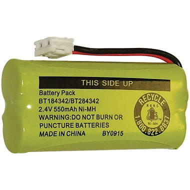 Clarity® 50613.002 Cordless Phone 550 mAh Replacement Battery For D613, D603, D613HS