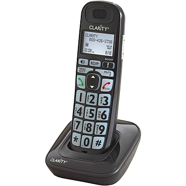 Clarity® 52703 Additional Handset For E814CC & E814, Black