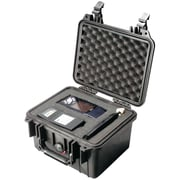 Pelican 1300 Case W/Foam ,  Black