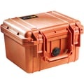 Pelican 1300 Case With Foam, Orange