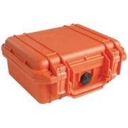 Pelican 1200 Case With Foam, Orange