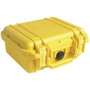 Pelican 1200 Case With Foam, Yellow
