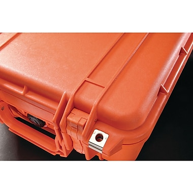 Pelican 1400 Case With Foam, Orange