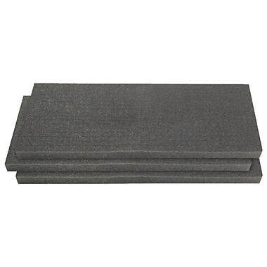Pelican 1751 3-Piece Replacement Foam Set For 1750 Long Case