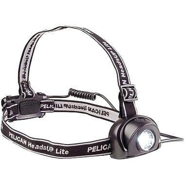 Pelican HeadsUp Lite 11 Hours LED Headlamp, Raven Black
