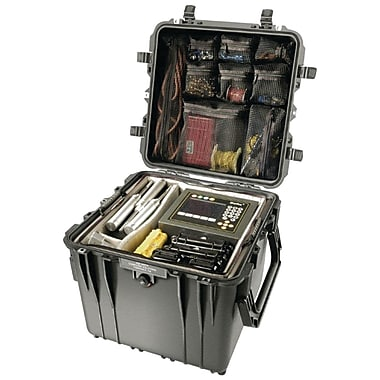 Pelican 0450-015-110 Mobile Tool Chest Black With Drawers, Black