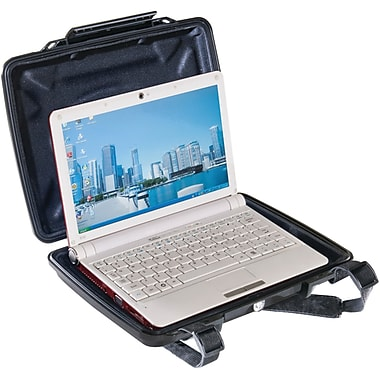 Pelican HardBack Case With Netbook Liner, Black
