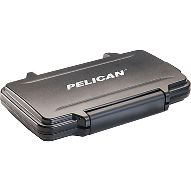 Pelican SD Card Storage Case Black Staples