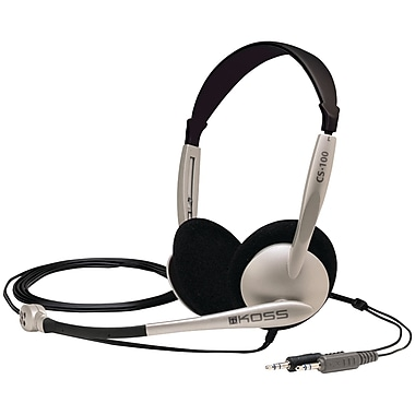 Koss® 159617 Multimedia Headset With Microphone
