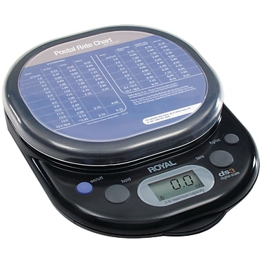 Royal® 17012Y Digital Postal Scale, 3 lbs.
