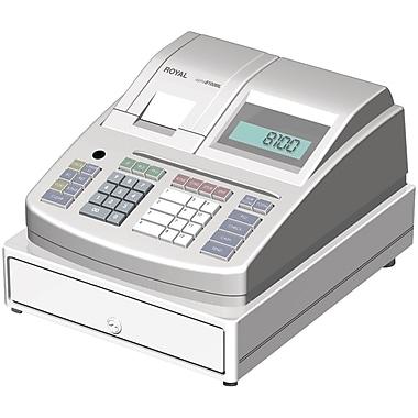 Royal 29461L Locking Cash Register, White