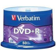 Verbatim VTM95037 4.7 GB AZO DVD+R Spindle, 50/Pack