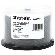 Verbatim® 4.7GB Datalifeplus White Inkjet Printable DVD-RS Spindle, Pack of 50