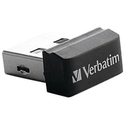 Verbatim® Store 'n' Stay 8GB USB 2.0 Drive, Black