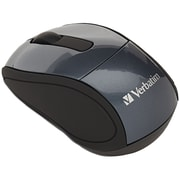 Verbatim® Wireless Mini Travel Mouse, Graphite