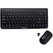 Verbatim® Mini Wireless Slim Keyboard and Mouse
