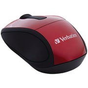 Verbatim® Wireless Mini Travel Mouse, Red