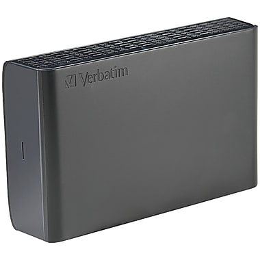 Verbatim® Store 'n' Save 1TB USB 3.0 Desktop Hard Drive (Black)