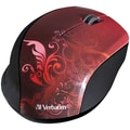 Verbatim® Wireless Optical Mouse Red Design